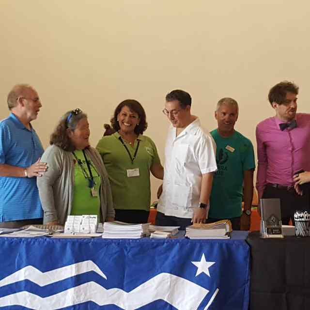 Reseda Neighbor Council Board Members with Bob Blumenfield