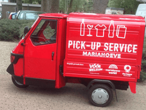 Pickup Service, conceptualised and realised by Leonie FLin