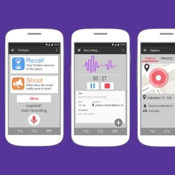 De app ECHO voor geluid op geolocatie - door Jim Bemelmans