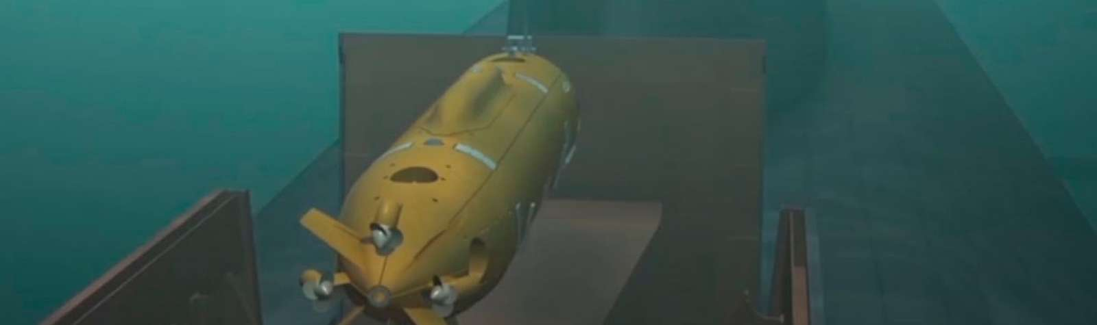Underwater drone-slider