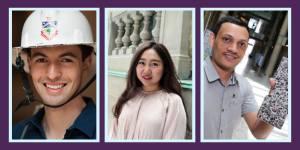 Grads to watch: Ernesto Diaz Lozano Patino, Gege Wen and Bishnu Gautam