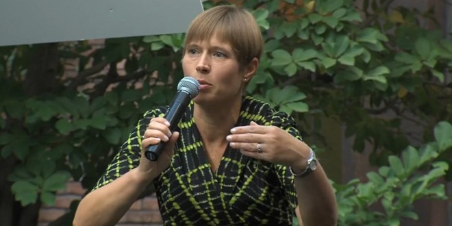 Kersti Kaljulaid: Georgia's New President Should be Able to Unite People