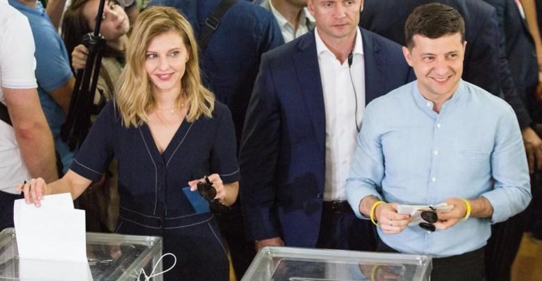Zelensky votes