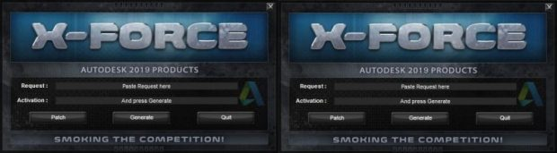 Autodesk 2019 (2018mod) All Products Keygen by X-Force
