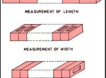 Dimension Test On Bricks