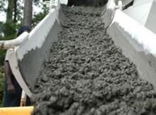 volume of concrete per batch