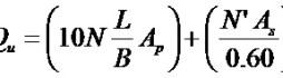 Pile load capacity formula-2