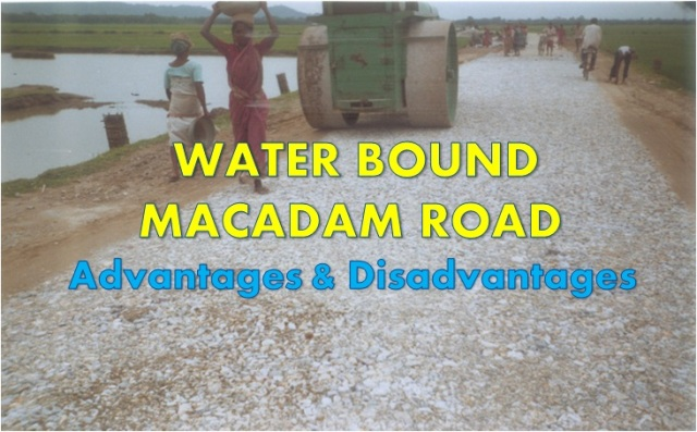 WHAT ARE THE ADVANTAGES AND DISADVANTAGES OF WATER BOUND