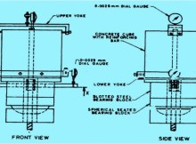 APPARATUS FOR BOND STRENGTH TEST