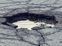 Fig-6 Potholes
