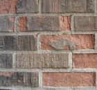 Spalling of brickwork
