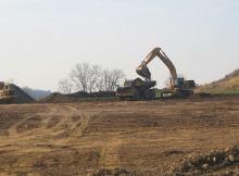 Processing of Borrow area soils