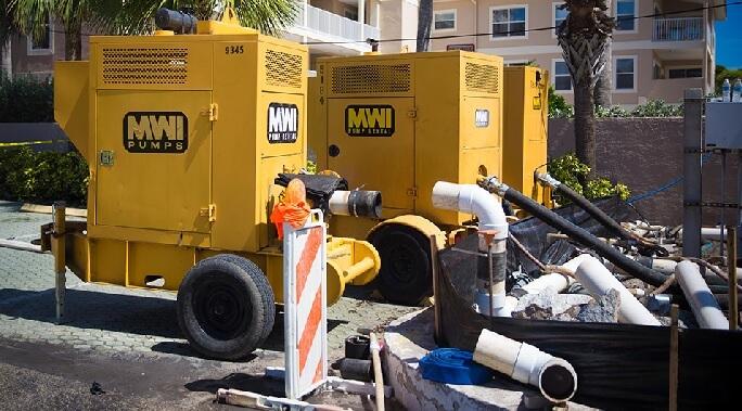 Sewage Pumping problems