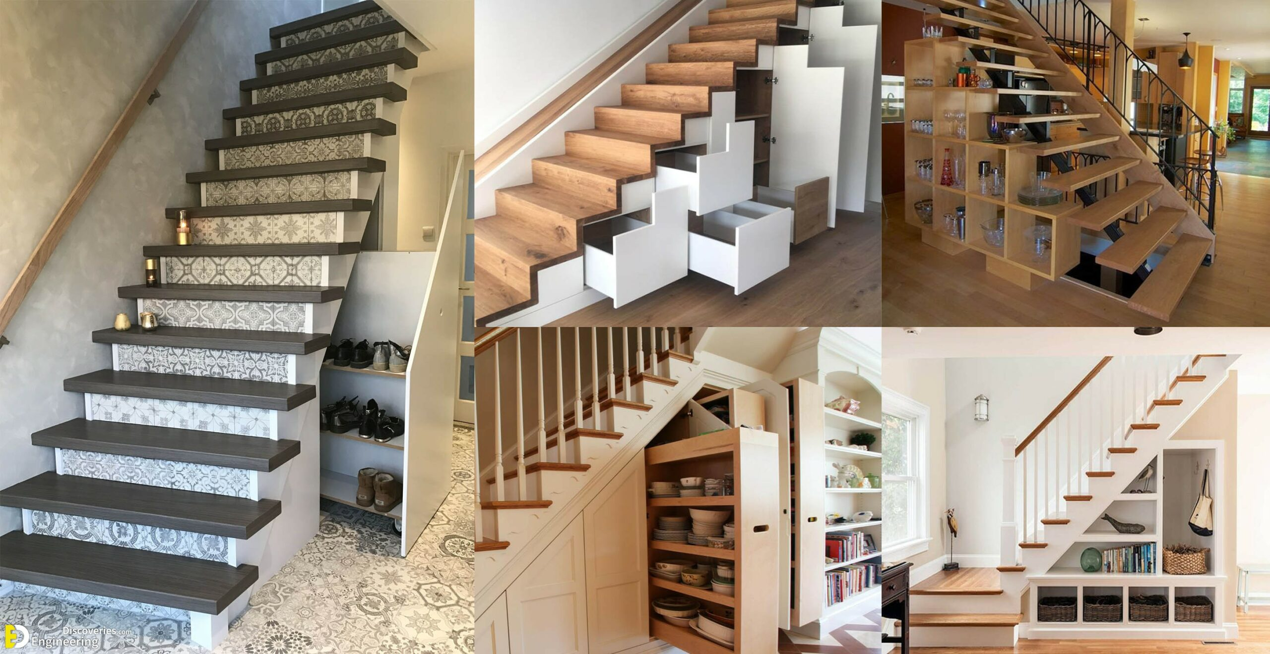 Clever Ideas For Understairs Storage Engineering Discoveries