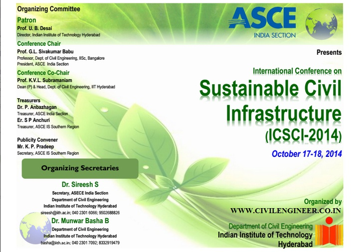 asce SUSTAINABLE INFRASTRUCTURE