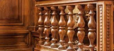 Repainting wood work
