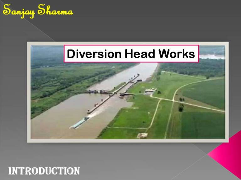 Read more about the article Diversion Head Works