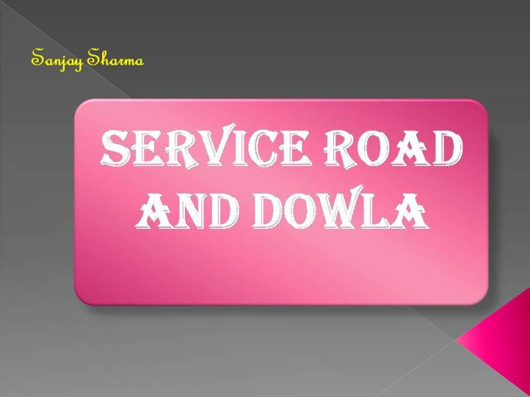 Read more about the article Service road and dowla