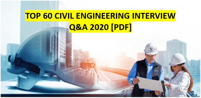 civil engineering interview questions and answers pdf