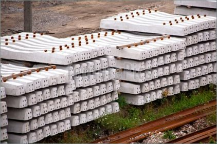 Railway concrete sleepers manufacturing process