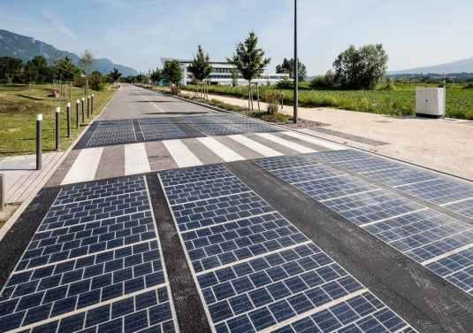 solar panel roads