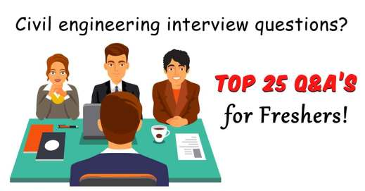 Entry-level civil engineering interview questions