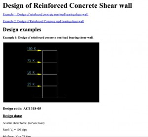 reincorced concreet