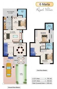 6 Marla Royal Villas