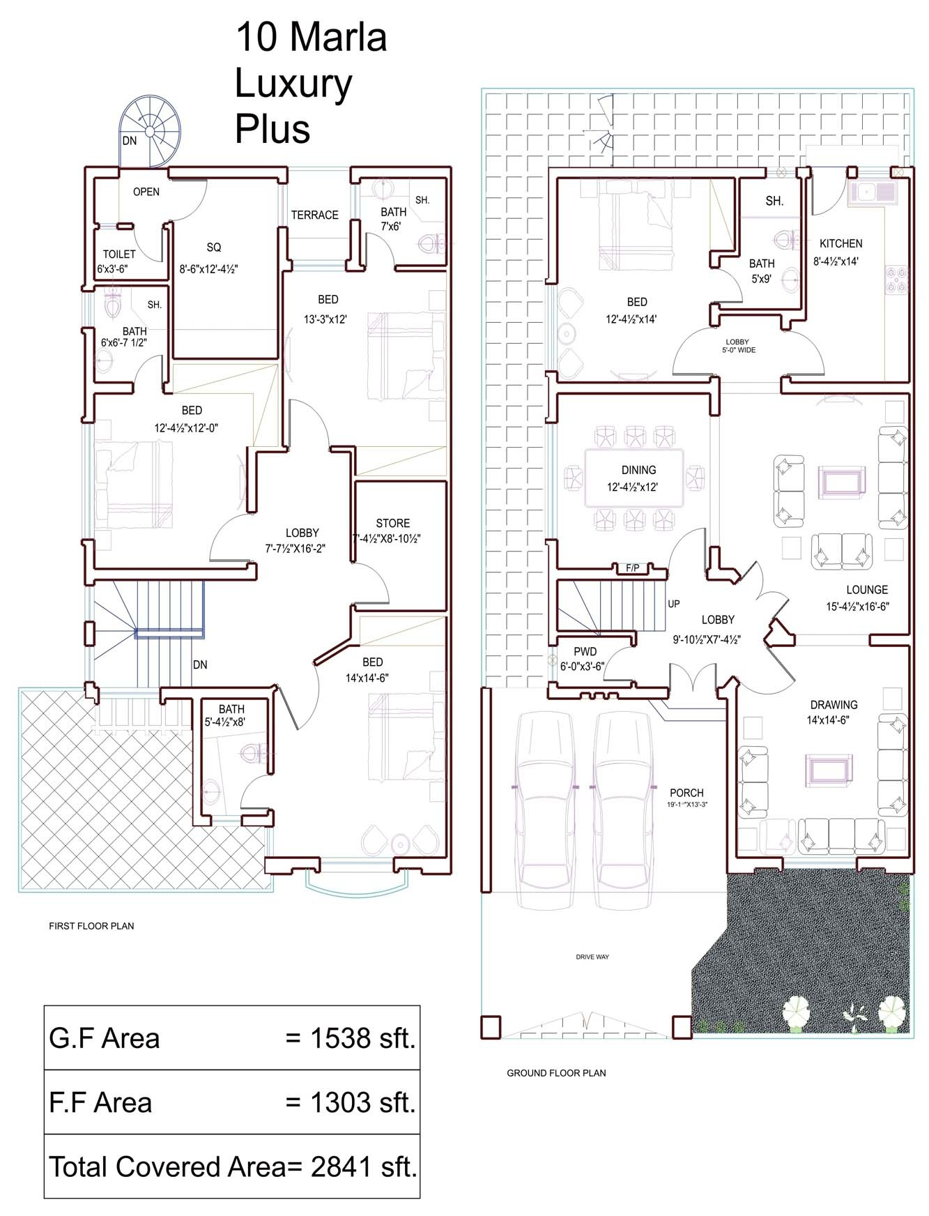 10 marla house plans civil engineers pk House map online free