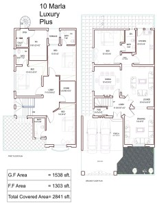 10 marla house plans civil engineers pk Construction cost of 5 marla house