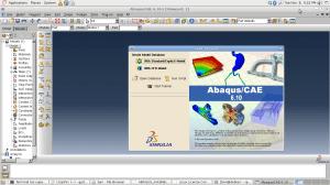 Abaqus 6.1 with Crack