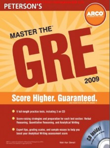 Peterson's Master the GRE 2009