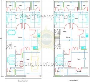 21.5' x 45.5' House Design