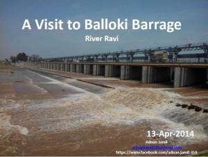 Balloki Barrage