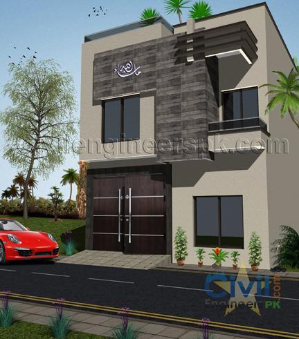 New 3 Marla House Design - Civil Engineers PK
