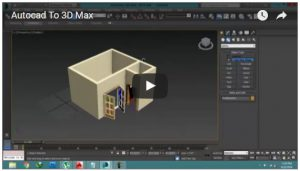 How to import an AutoCAD plan to 3D MAX