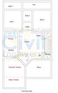 New 6 Marla House Plans