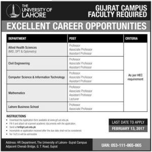 Excellent Career Opportunities in UOL