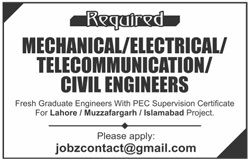 Sunday Jobs Civilengineerspk 5-3-2017
