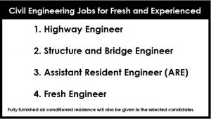 Civil Engineering Jobs for Fresh