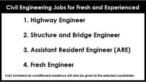 Civil Engineering Jobs for Fresh
