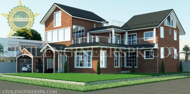 New 30 Marla House Design by Civilengineerspk