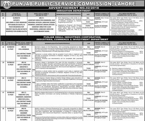 50 Civil Engineering Seats in Irrigation Department