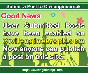 Submit a Post to Civilengineerspk