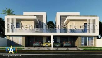 10 Marla House Plans - Civil Engineers PK