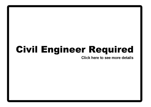 Civil Engineer Required 1