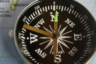Magnetic Compass used for surveying