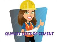 tests on cement, cement tests, test of cement