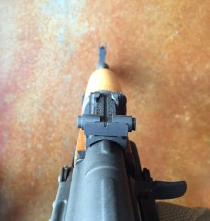AM63D rear sight