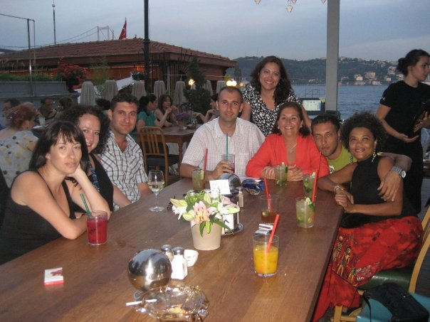 The Cocktail Hour at House Cafe Ortakoy, on the Bosphorus